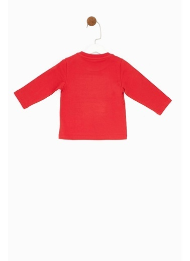 BG Baby Erkek Bebek Kırmızı T-Shirt Kırmızı